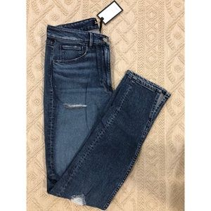 NWT! 3x1 Skinny Destructed Jeans